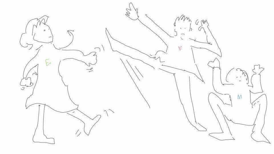 Drawing by Alex Mah