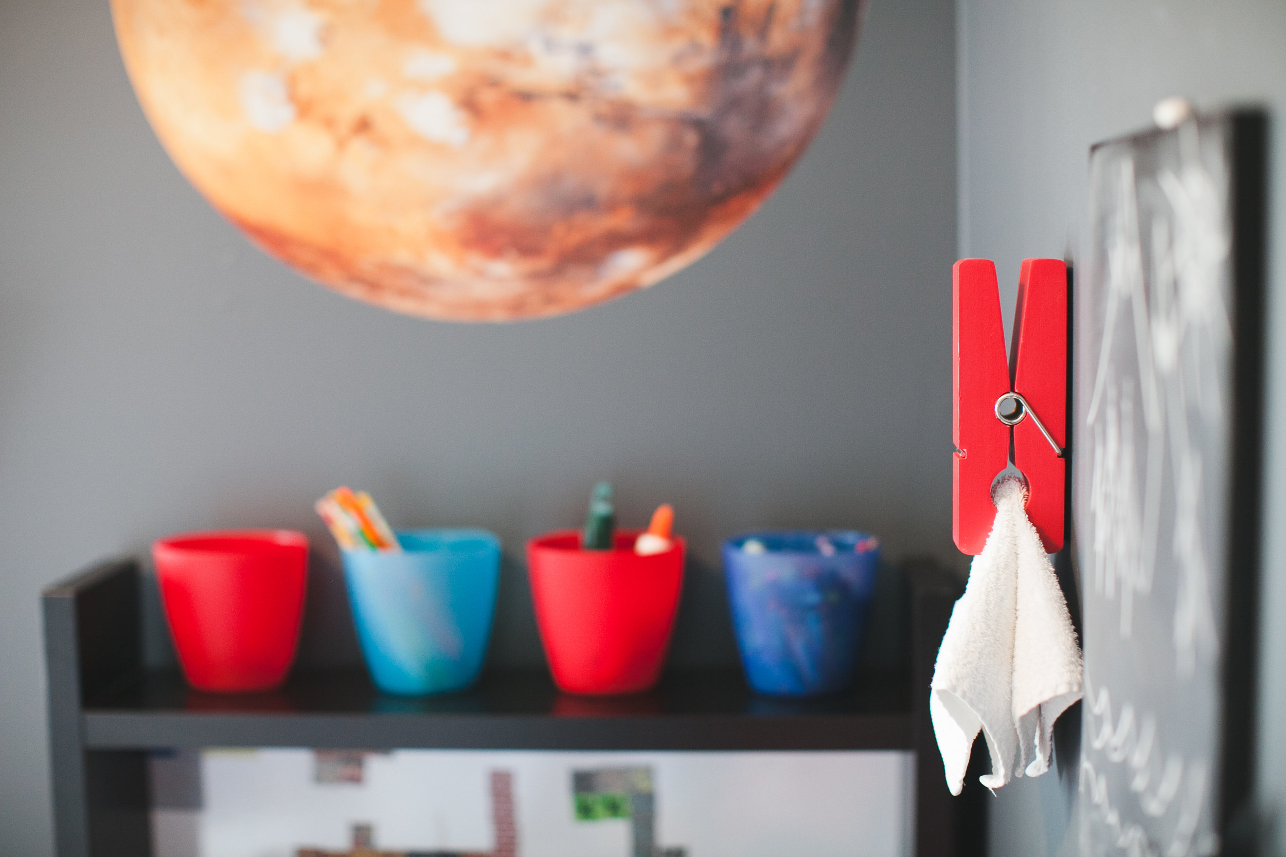 planets and more space themed room decor