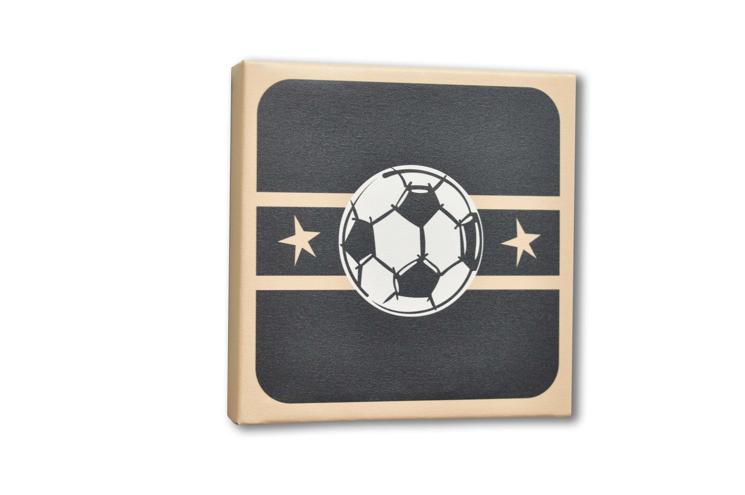 Homeworks Etc Soccer Ball Canvas Art Room Decor