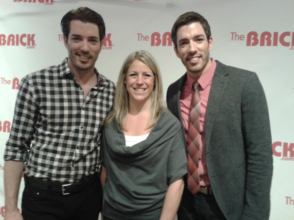 Jacqueline De'Ath with Property Brothers