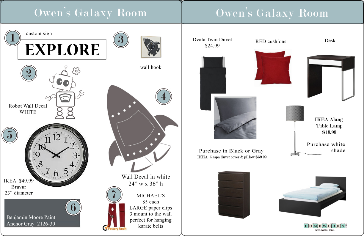 space themed boys room ideas and inspiration