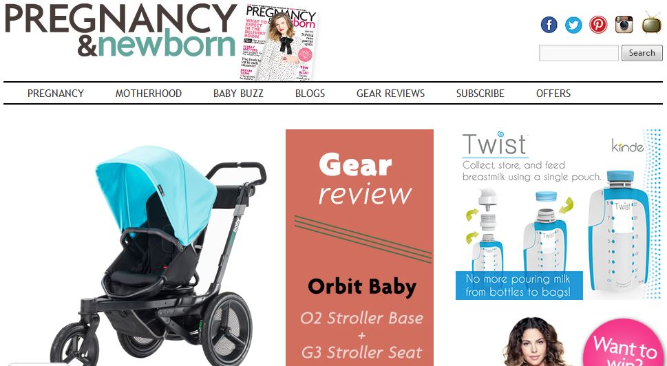 PREGNANCY AND NEWBORN MAGAZINE online resource