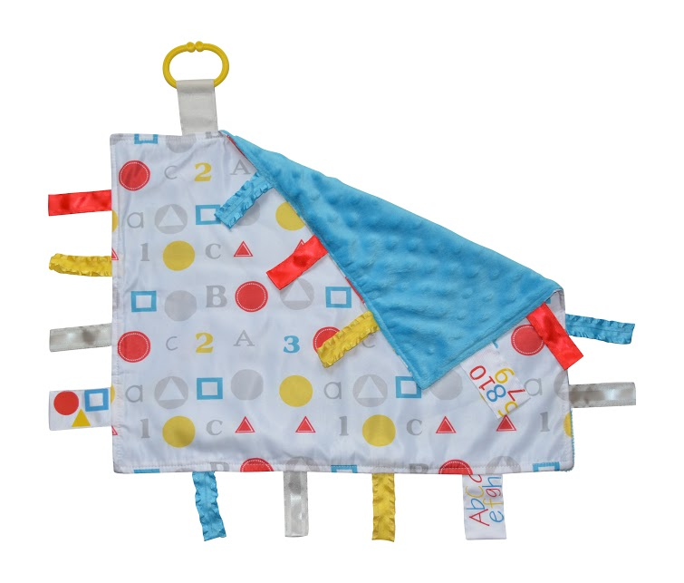 Baby Jack and Co sensory blankets