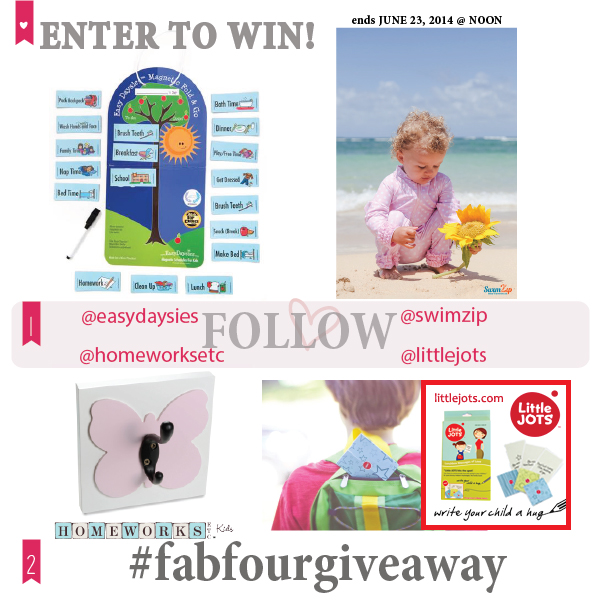 #fabfourgiveaway