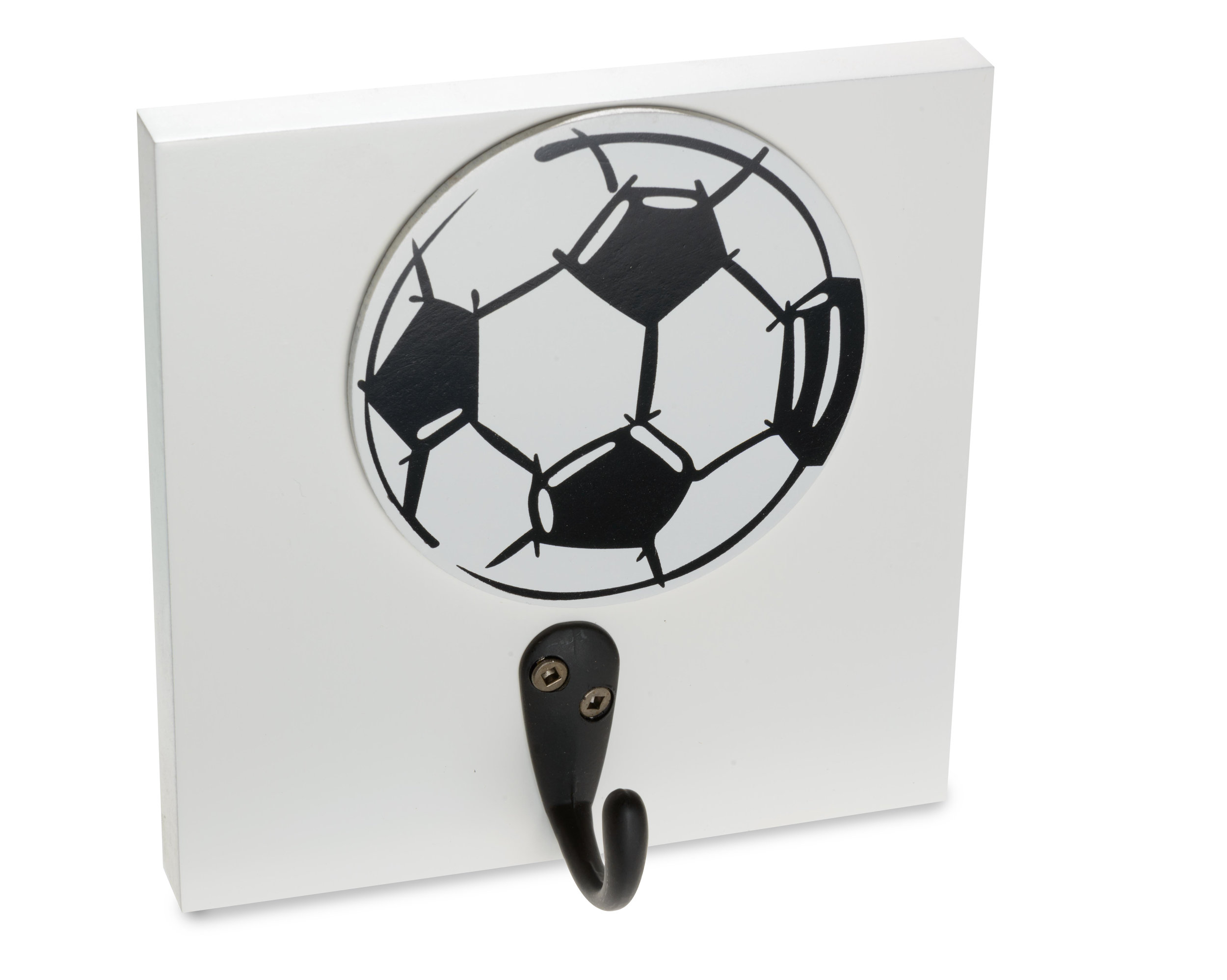 Soccer themed room decor, Homeworks Etc Wall Hooks