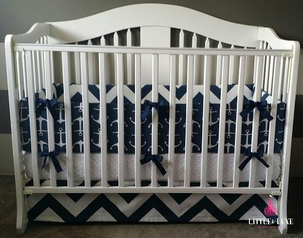 Nautical Crib Bedding - Little & Luxe Decor