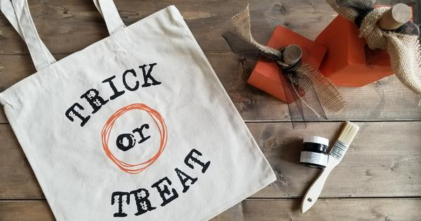Diy Trick Or Treat Bag Ideas Homeworks Etc Designs