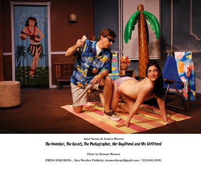 Jessica Moreno &Jaret Sacrey (2012 cast)