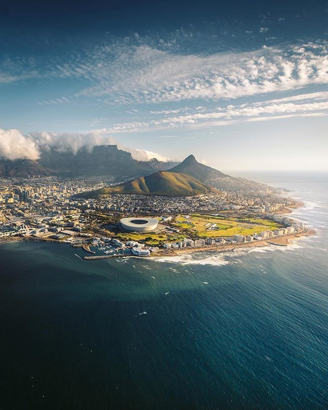 Aerial View - Cape Town, South Africa 🚁 😍|| 📸 @emmett_sparling
