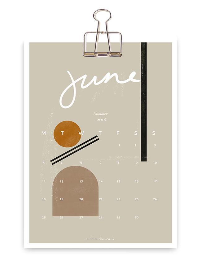 2018 calendar  Get planning!