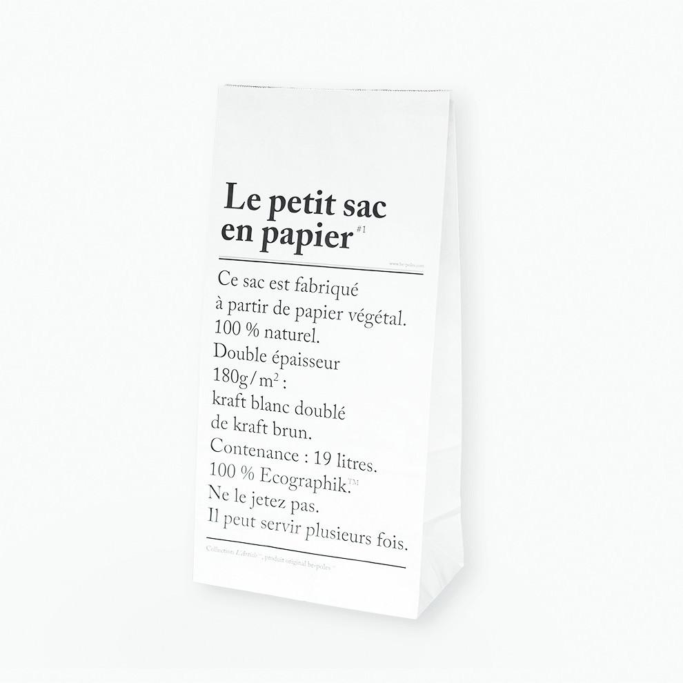 Le petit sac en papier  Eco friendly storage