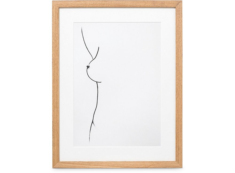 Oliver bonas a4 form wall art  Need this in my bedroom