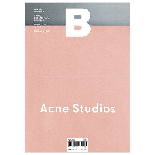 brand balance - acne studios  Brand documentary magazine without the ads.  O B S S E S E D