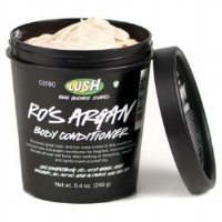LUSH ro's argan shower moisturiser  My all time favourite Lush product!
