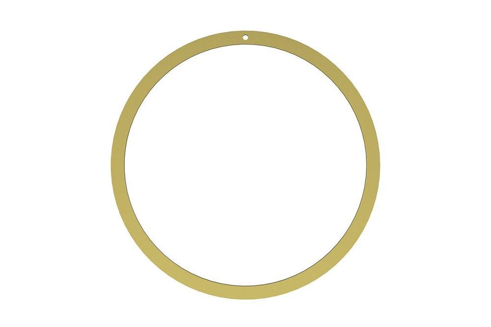 Cooeee design - brass wreath ring  Aesthtics