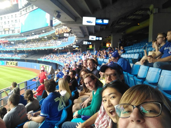 We celebrated the end of CREATE mission trip by going to Toronto for the day. We ate good food, did some evaluation activities and went to a Toronto Blue Jays game.