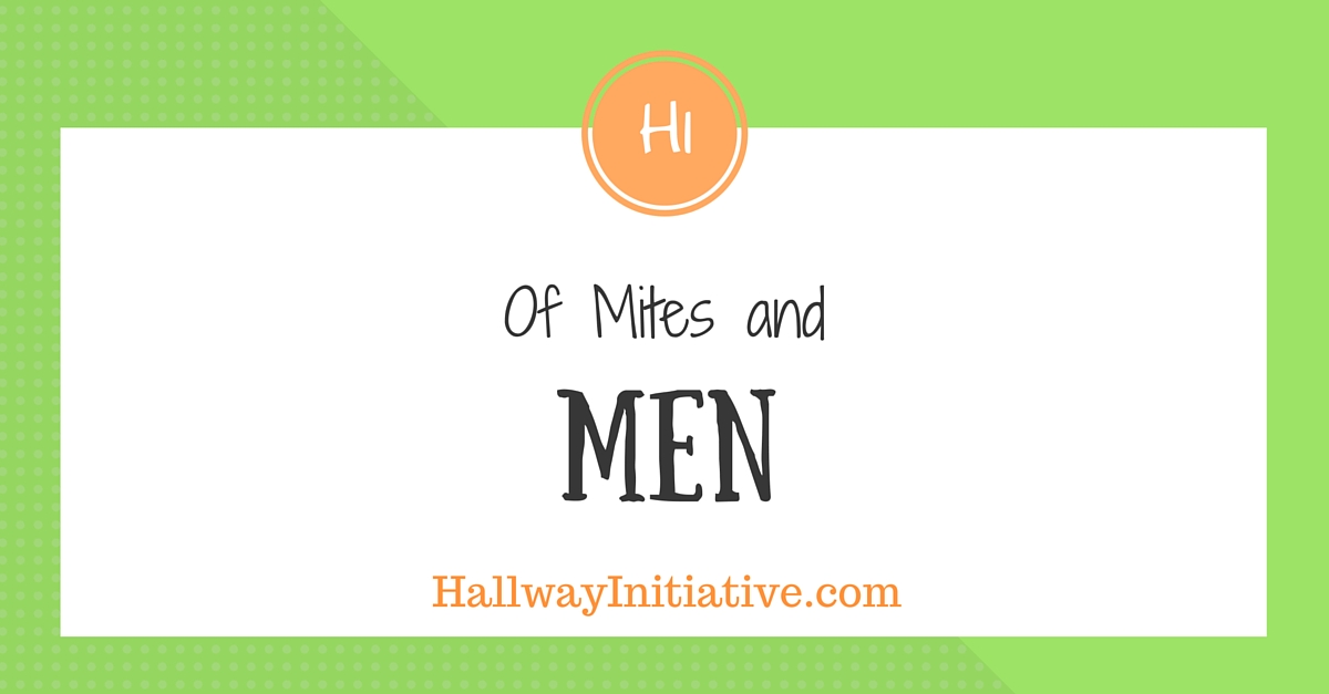 Of mites and men