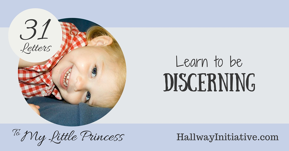 Learn to be discerning