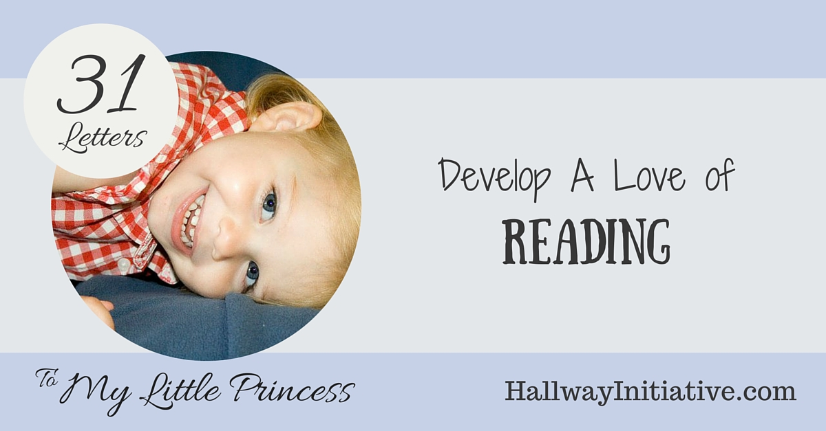 Develop a love of reading
