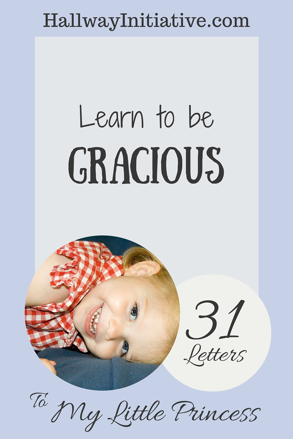 Learn to be gracious