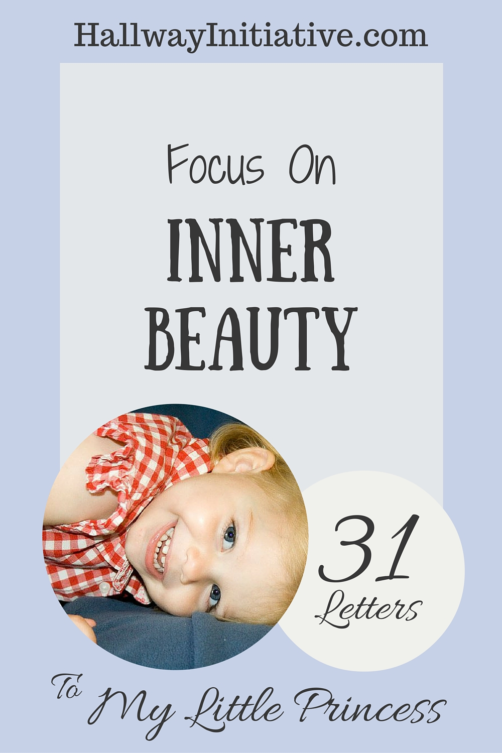 Focus on inner beauty