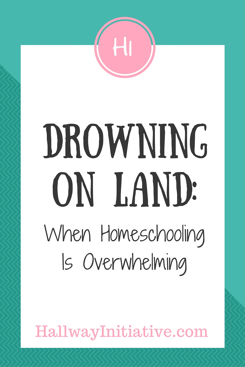 Drowning on land: when homeschooling is overwhelming