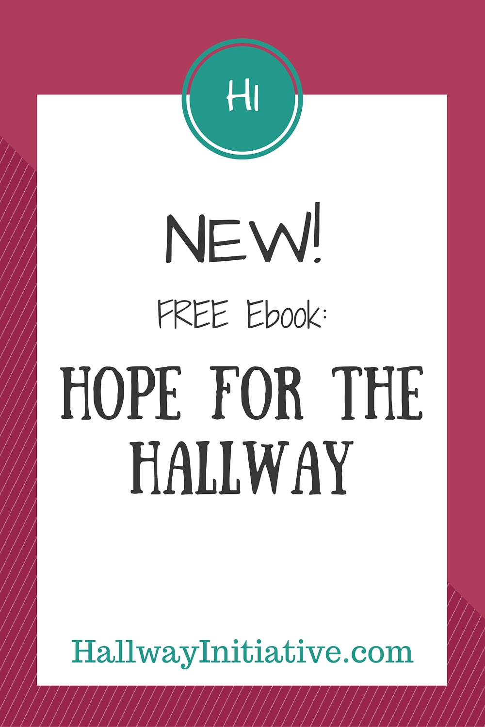 NEW! Free ebook: Hope for the Hallway