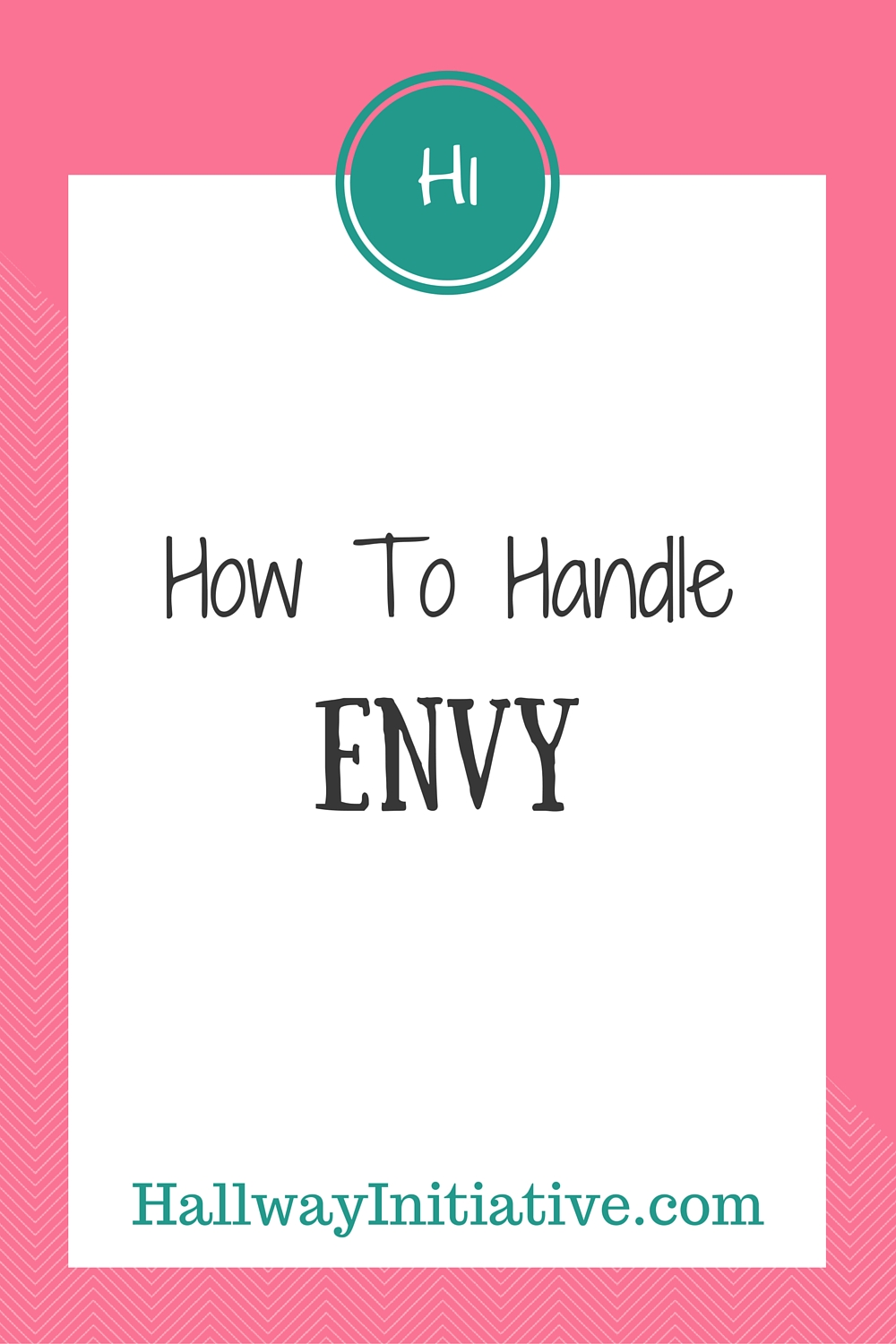How to handle envy