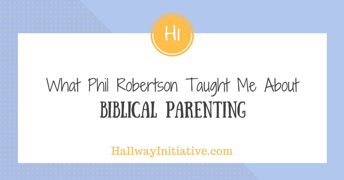 What Phil Robertson taught me about Biblical parenting