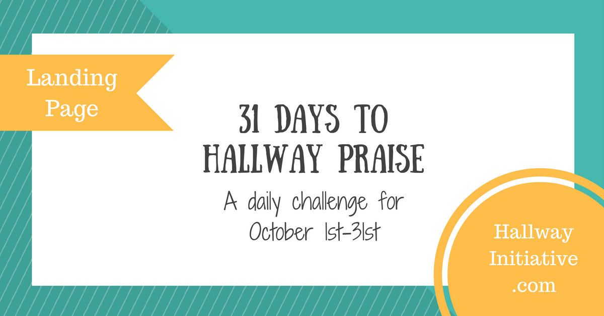 31 days to hallway praise