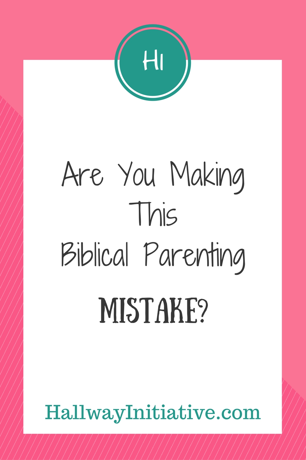 Are you making this biblical parenting mistake?