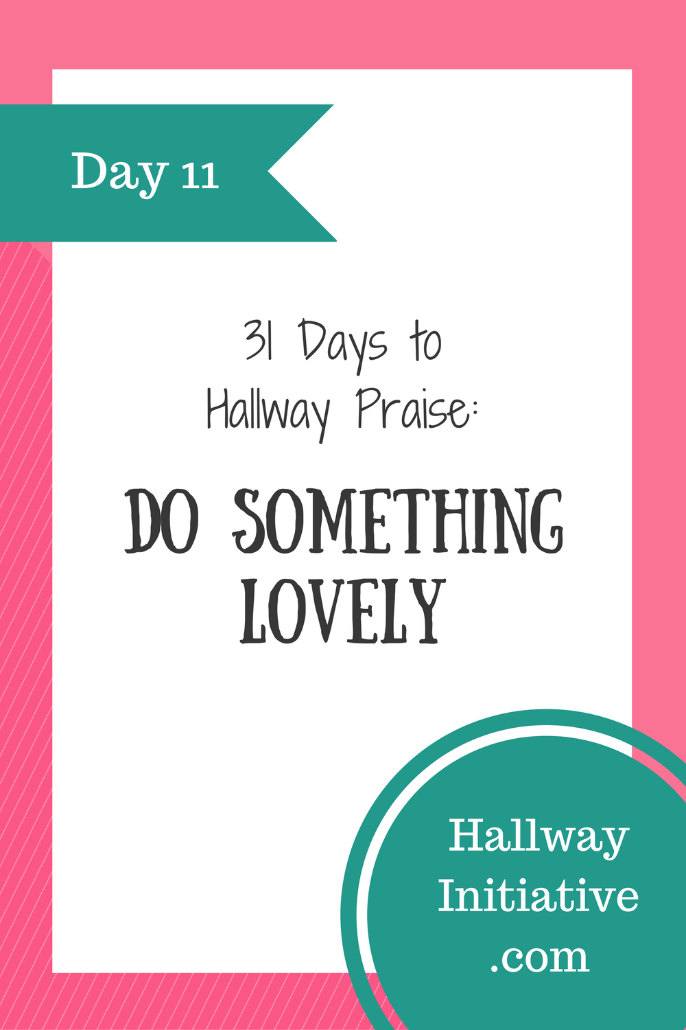 Day 11: do something lovely