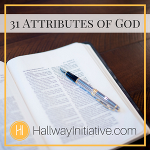 31 Attributes of God