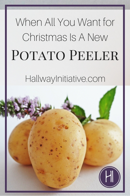 Christmas Potato Peeler Pin