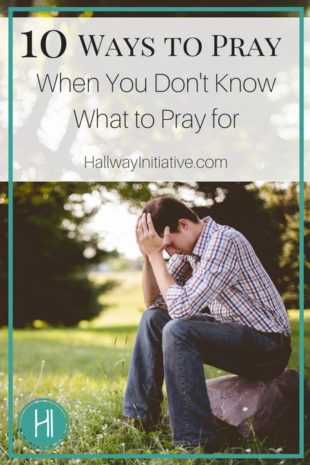 What to Pray For