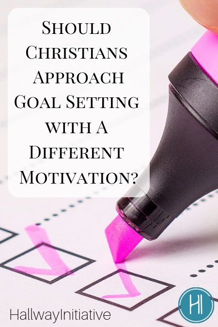 Goal Setting Motivation