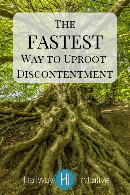 Uproot Discontentment