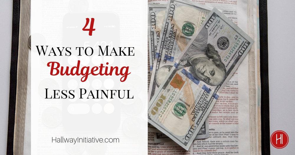 Budgeting Less Painful