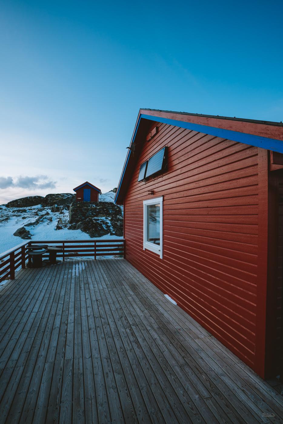 Norwegian DNT cabins at Ryten