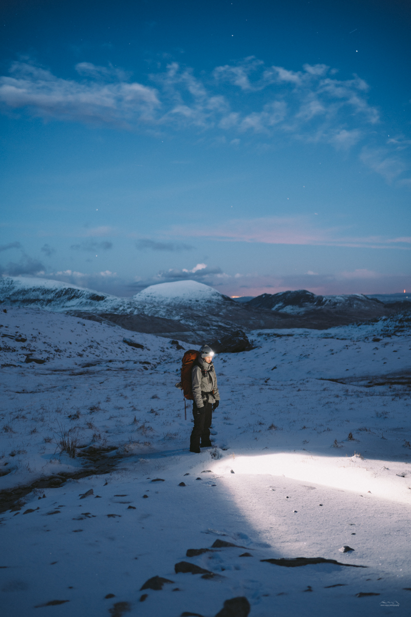 Winter hikes in Snowdonia, UK