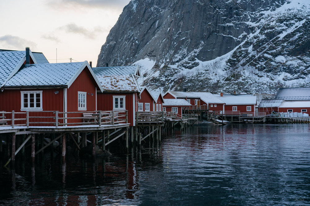 Red huts of Reine, Lofoten