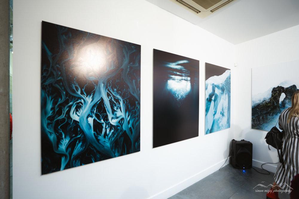 Benjamin Hardman at the print space