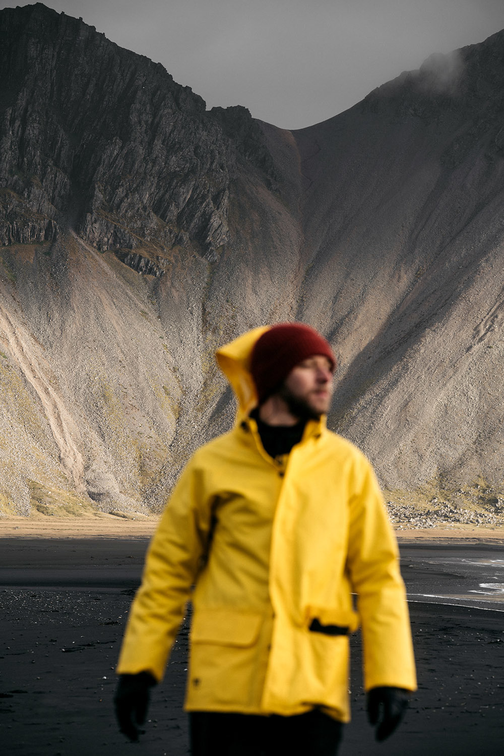 Lifestyle photography - Man in Iceland