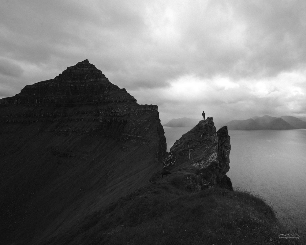 The dangerous cliffs of Kalsoy. Be careful there!