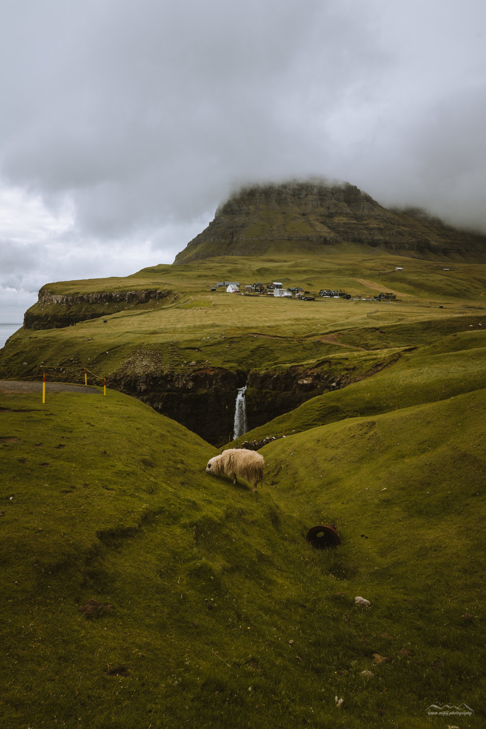 Waterfalls, mountains and sheep... Fare Islands have it all