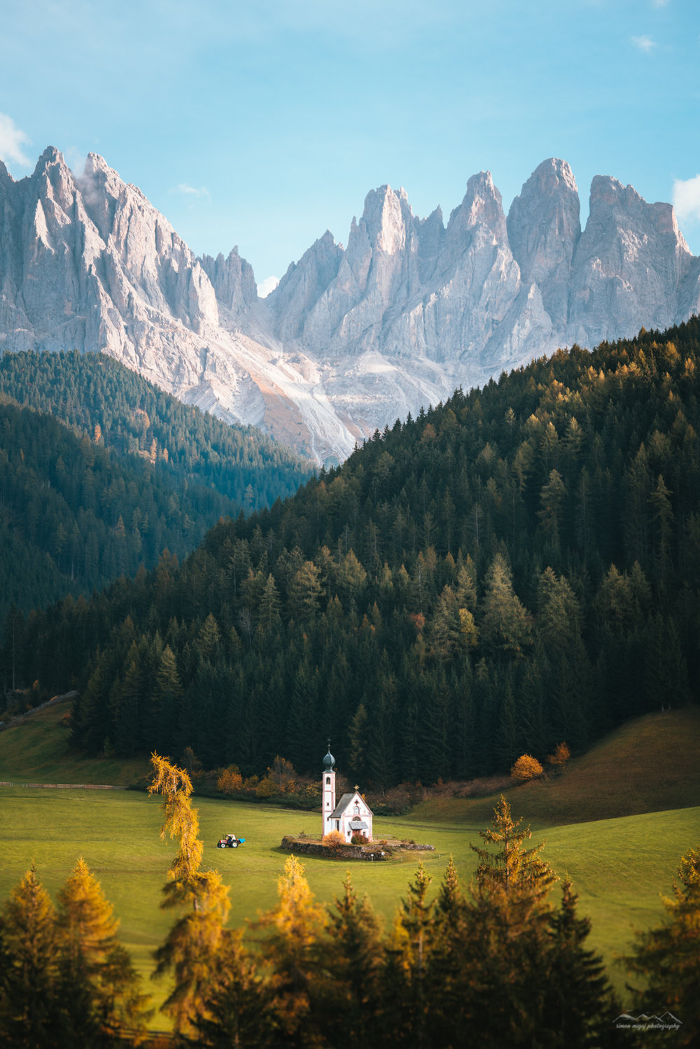 Incredible scale of the Val di Funes