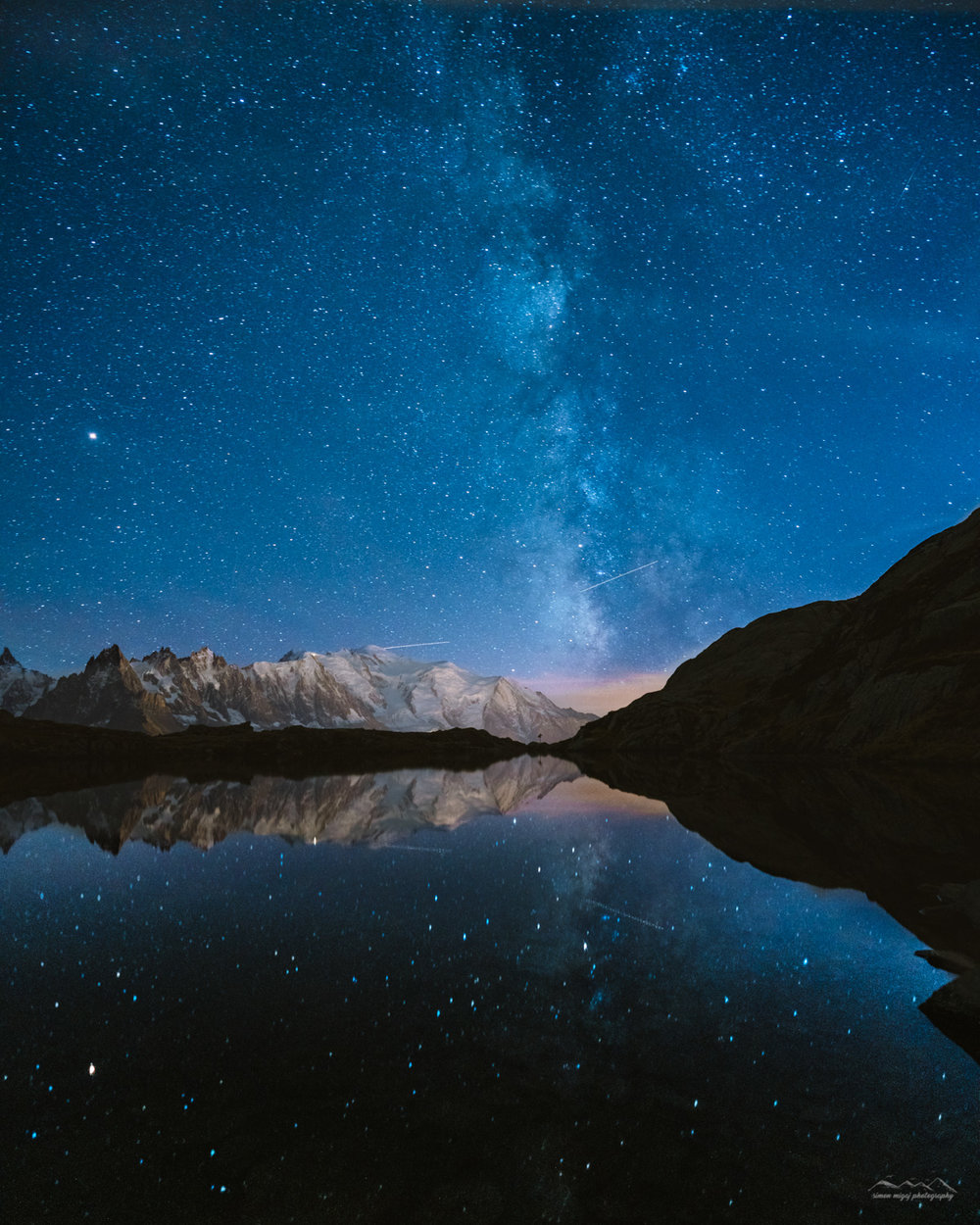 Astrophotography at Lac de Cheserys