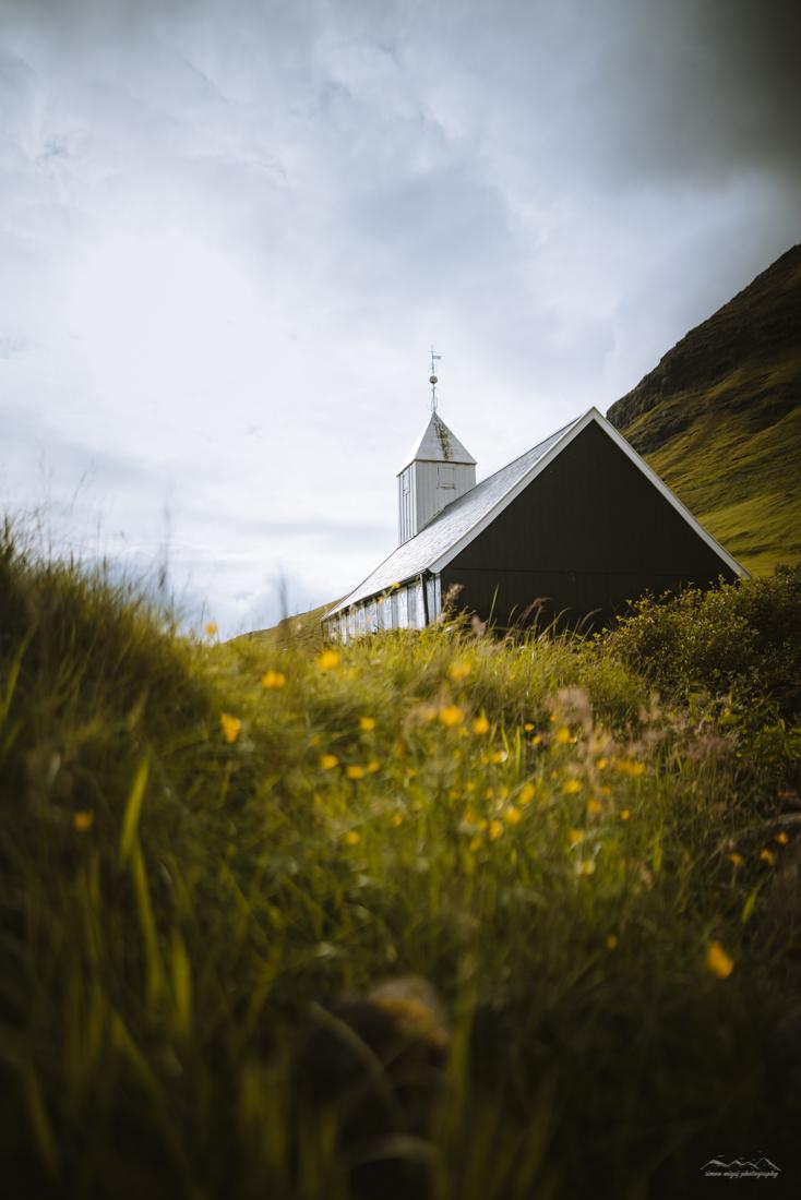 Church in Bøur, Faroe Islands