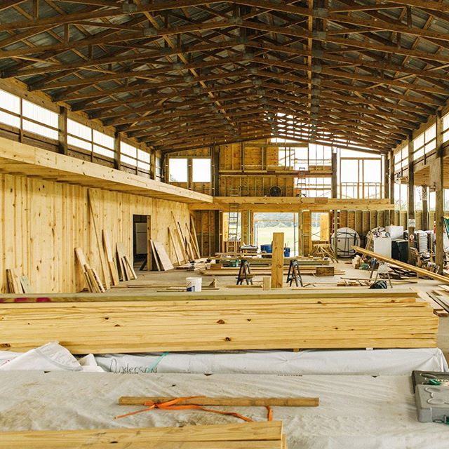 Check out the progress on our Legacy Barn. We can't wait to see how beautiful it's going to look when it is completed. It will have a beautiful balcony overlooking the ceremony/reception space. 😍