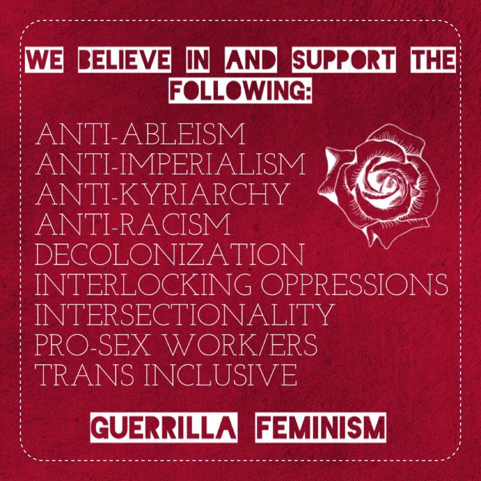 Resource Network by Guerrilla Feminism